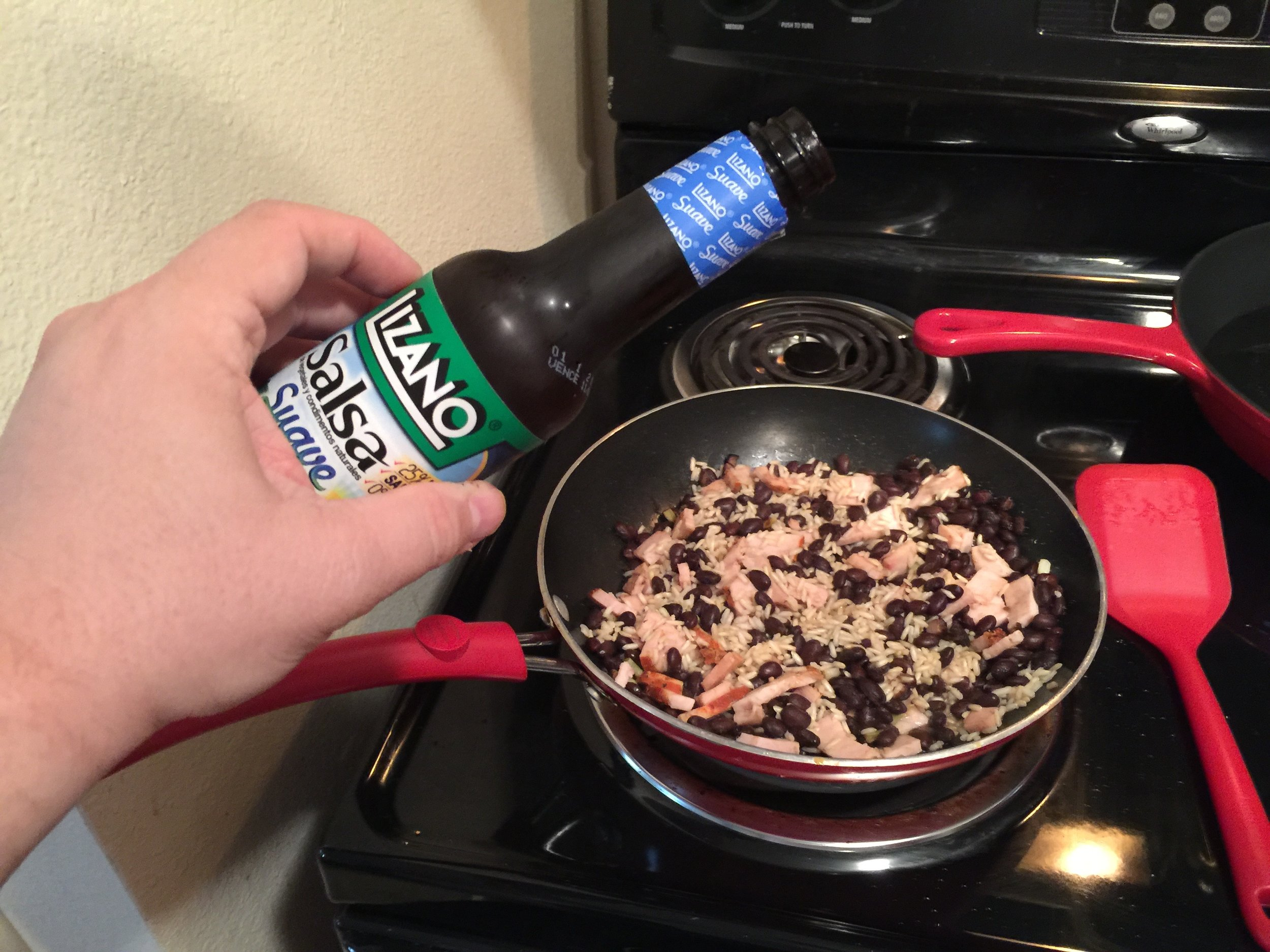 Lizano Sauce - This sauce is an important part of the taste of gallo pinto.