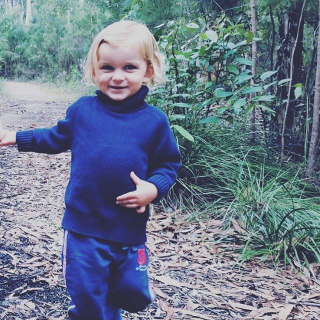 Nature play weekend for Kai, out in the local bushland. Feeling grateful for being part of a healthy community. 🙏🏼🌎❤️