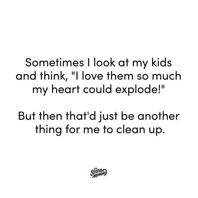 Wouldn't be the first time I clean blood and mystery goo off the floor 👀 #messykid #toddlerlife #cute #momsheart ~ Via @scarymommy