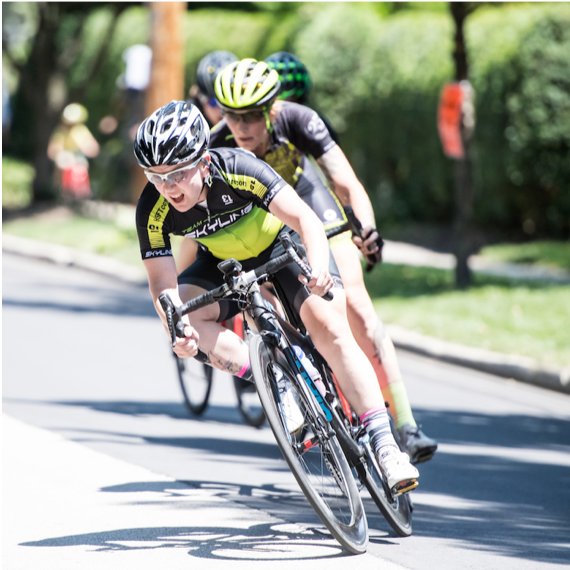 T Rabbit (Wappinger Falls, NY)  T is a speed machine and straight up gutless. She is a super fast track and crit racer that rebounded from serious health scare to race with a ostomy. Known as T or Fluffy Bunny, stomping pedals is an every day occurrence.