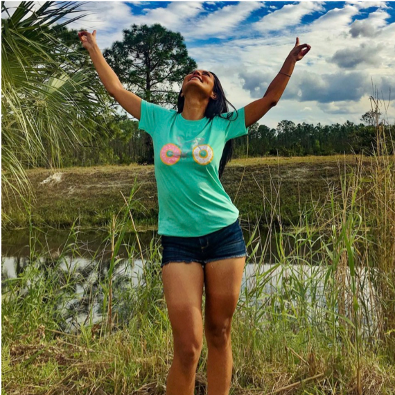 Josselyn Gutierrez (West Palm Beach, FL)  Watts Up Joss always seems to be flat out loving life. She shreds all over Florida on her mountain bike, seeking inspiration as she goes along. Watch out for her, as she may be shredding the singletrack or gravel roads near you.