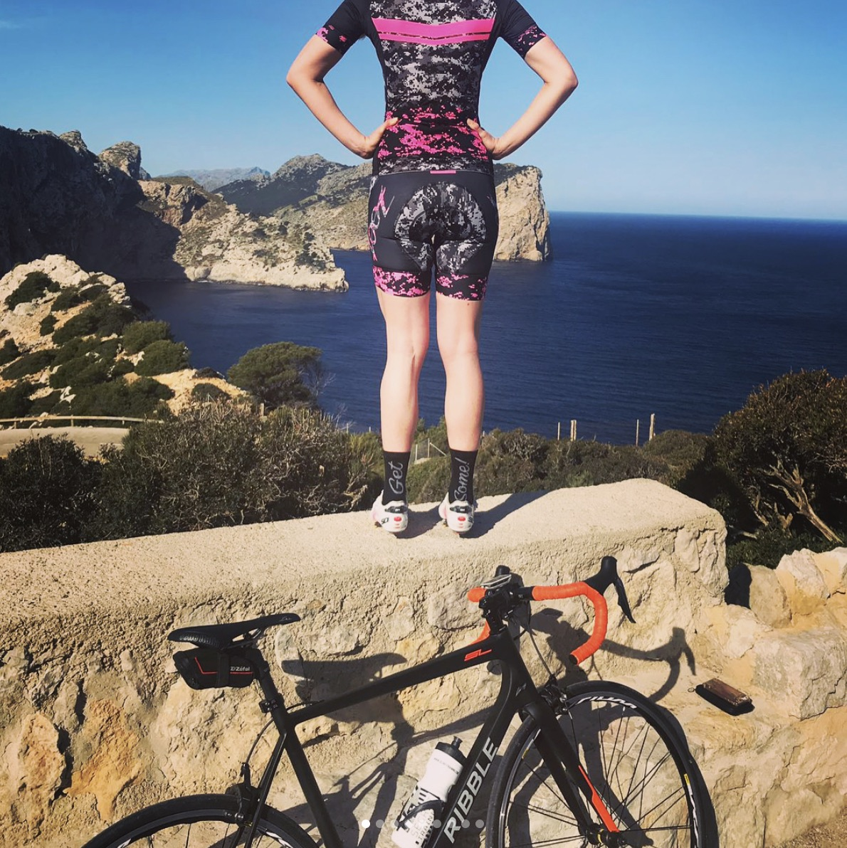 Anna Weaver (Manchester, UK)  Anna loves cycling and triathlons. She can be found in the UK (and some other exotic locations around the world) showing her strength and endurance skills.