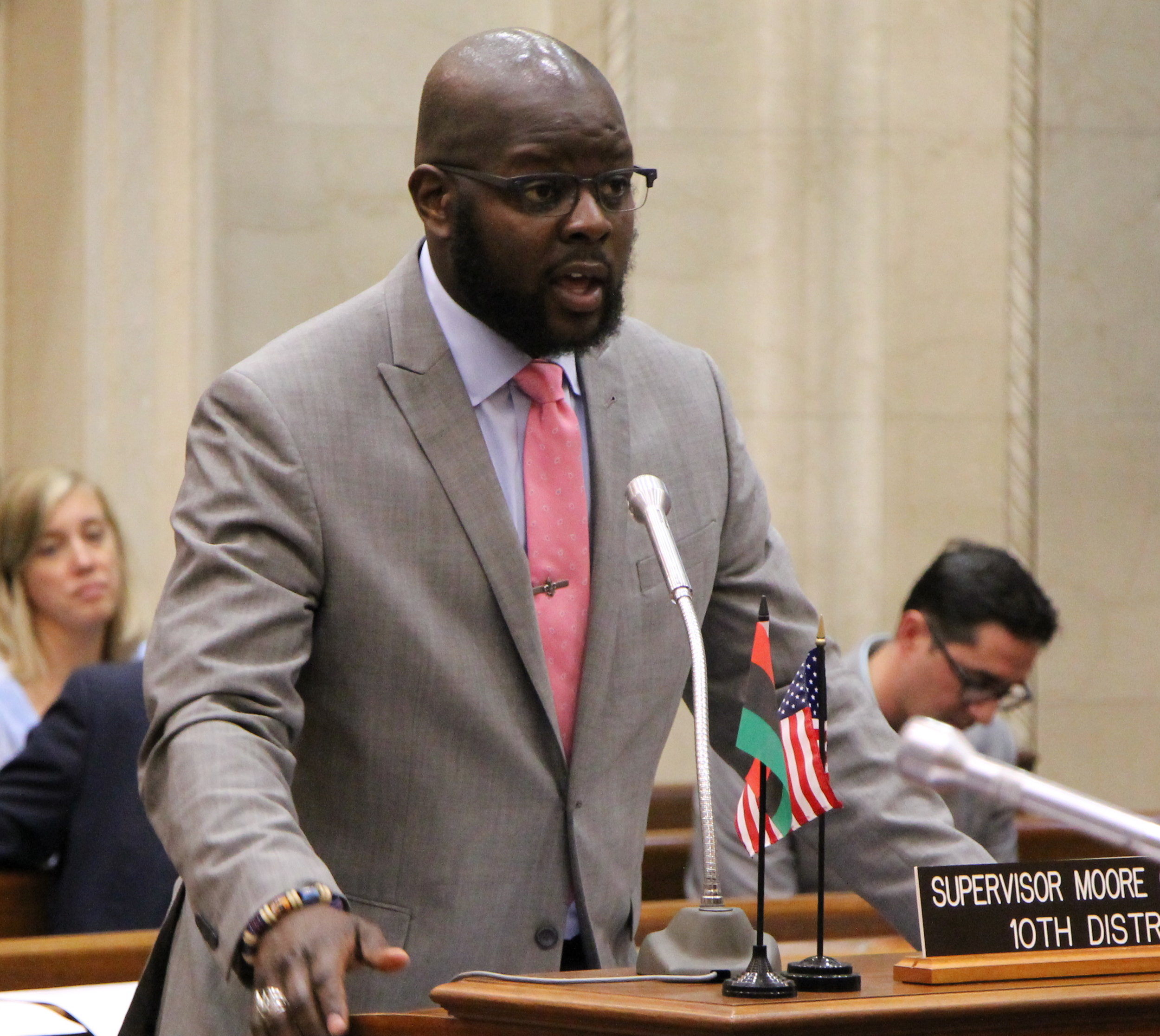 As County Supervisor for the 10th District, Supreme works for the people every day. He is a member of the Finance Committee, which sets and adopts the Milwaukee County Budget, and he serves as Chair of the Health and Human Needs Committee.  -