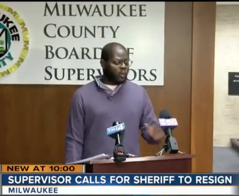 Supreme was the first elected official to call for Sheriff David A. Clarke to resign in the wake of four deaths at the Milwaukee County Jail in 2016.   -
