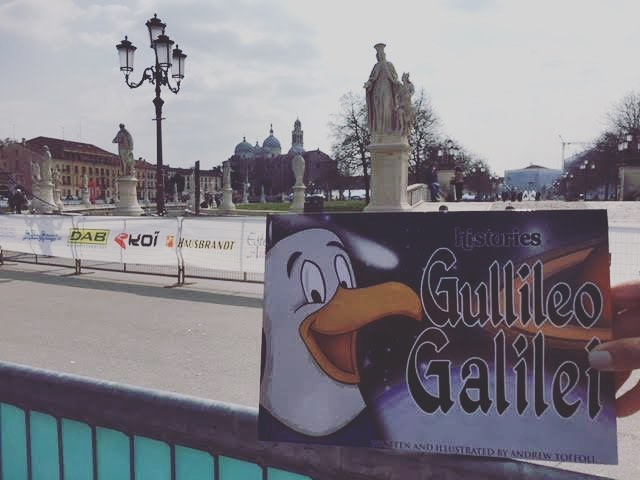 Bringing Gullileo home to where Galileo taught math for 18 years....Padova, Italy! Our book journeys continue this March! . . . . . . . . . . . #galileo #teaching #Padova #books . .#goldenretriever  #love #cooper #doglovers #booklovers #Sunsetinternationalmdcps #family #community #education #elementaryillustration #book club #booklovers #reading #firstgrade #elementaryteacher #author #illustration #childrensbooks #historyeducation #elementaryart . #elementaryillustration #cartoons #historycartoon #creativebiography #creativeteachers #teachersgoals