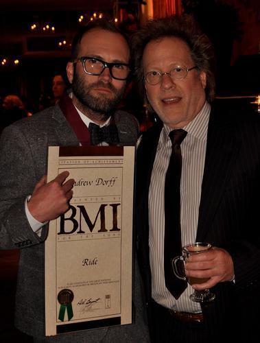 Andrew Dorff BMI Awards Winner 2010