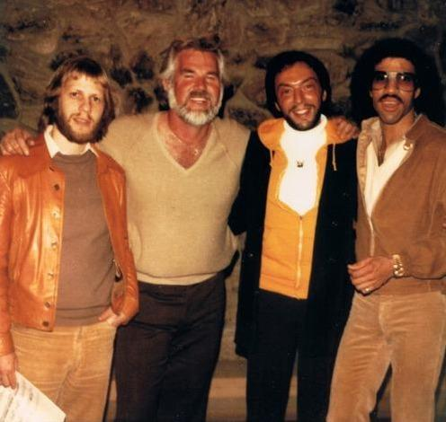 Kenny Rogers, Marty Panzer & Lionel Ritchie
