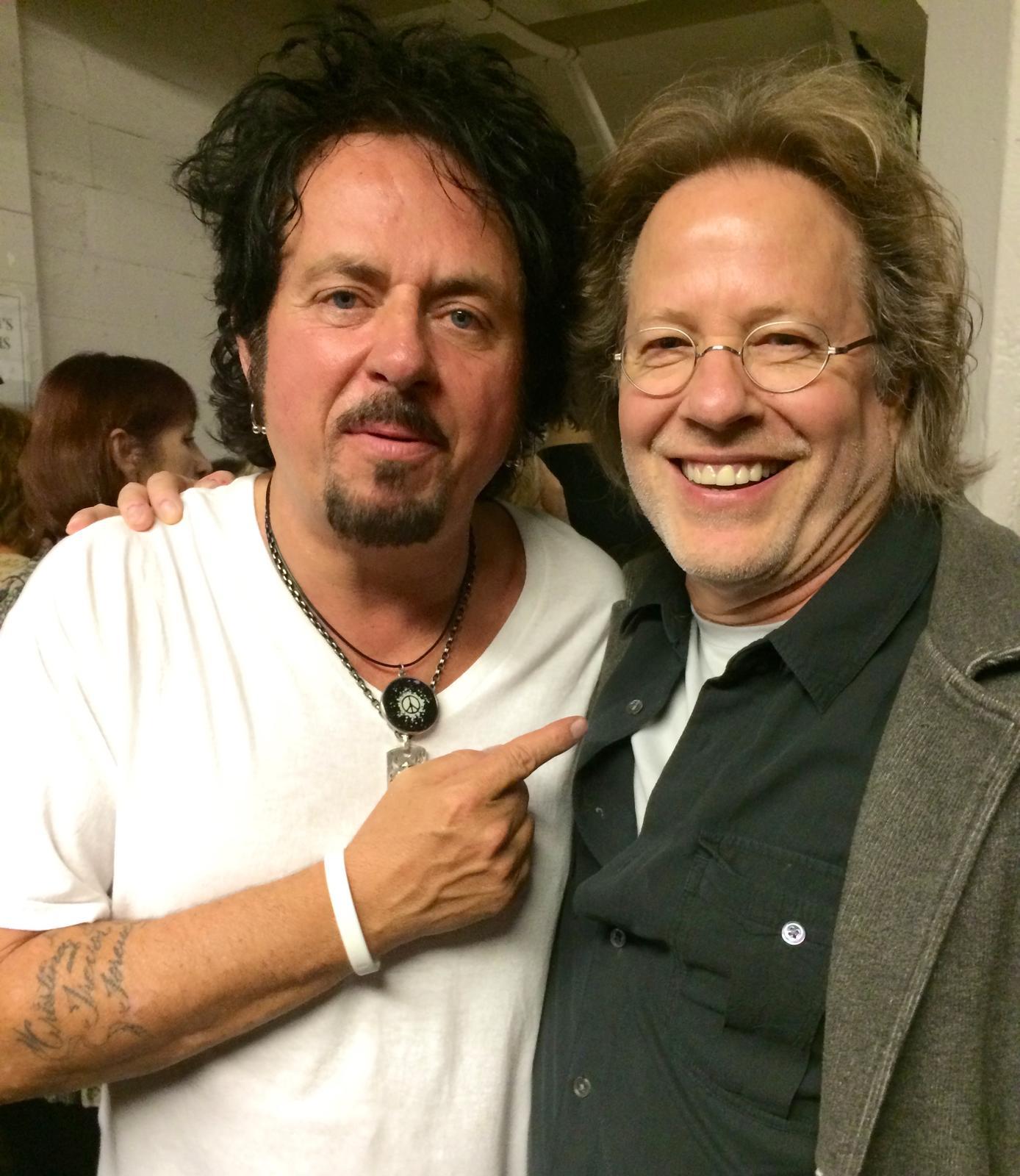 Steve & Steve Lukather-TOTO