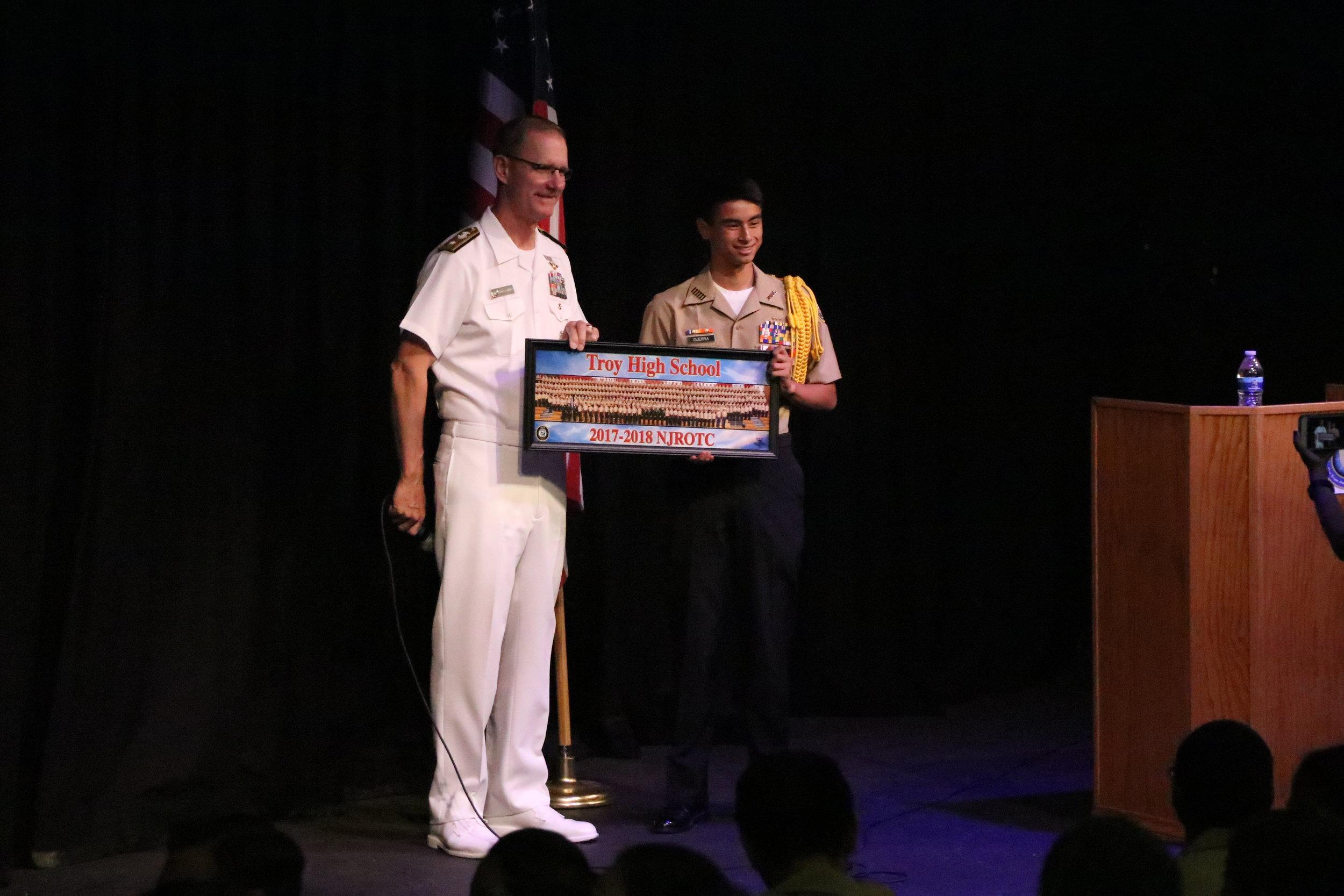 2018 Rear Admiral Lindsey Visit