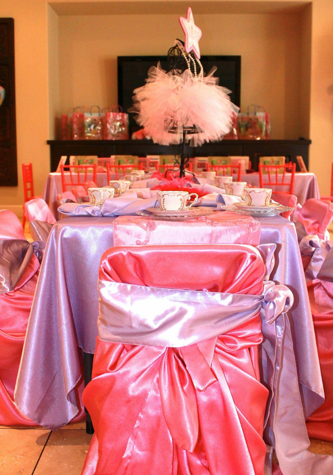 Princess Party Tea Table