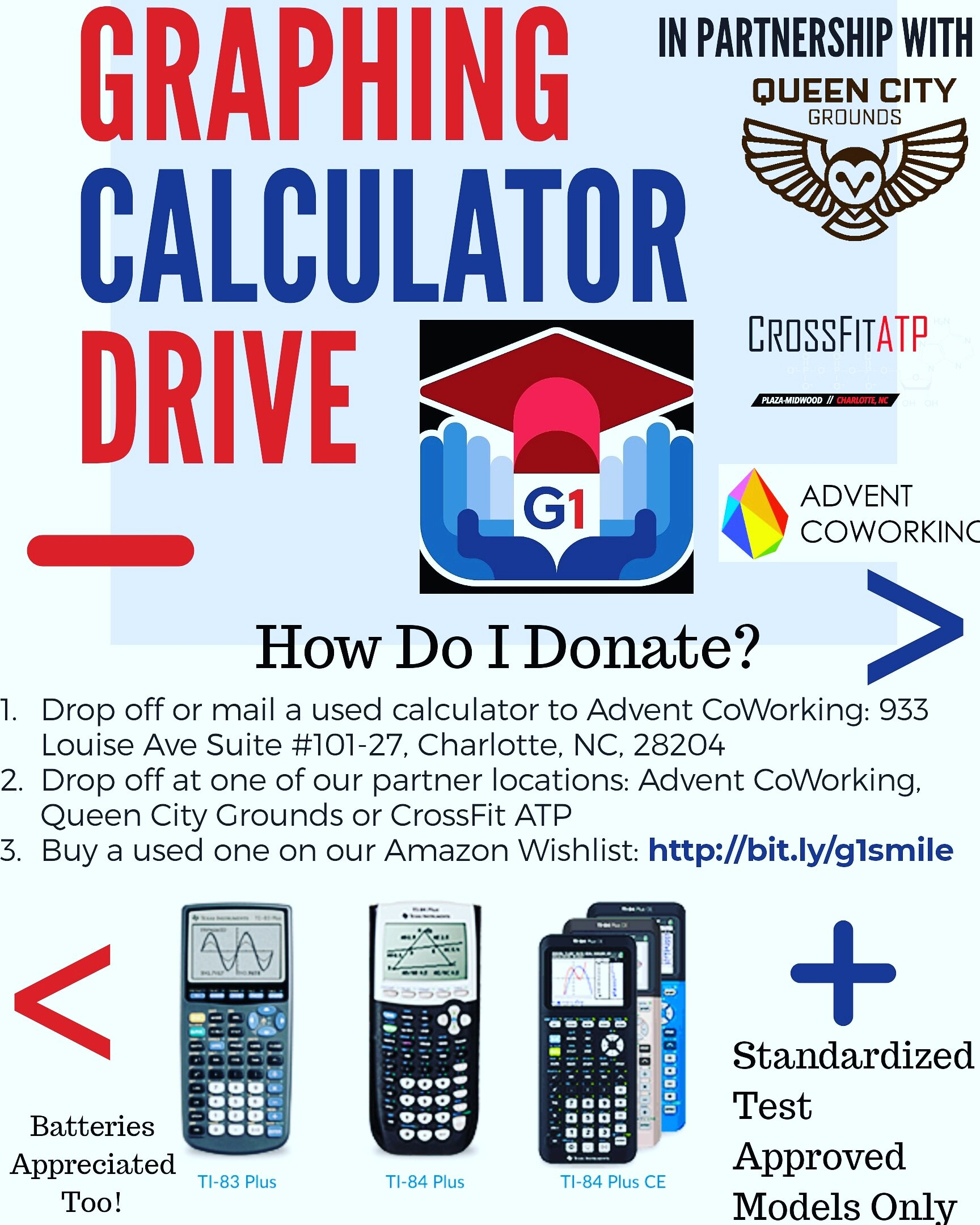 G1 Graphing Calculator Drive
