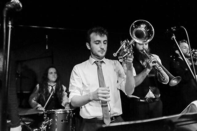 🌟 One week to go! 🌟⠀ Our trumpets and saxes are ready to groove at next Saturday's show: Dance Hits with The Two Cent Professionals! Get a table together, bring some nibbles, and enjoy the cheap drinks at the bar 🥂 We'd also love to encourage families to come along with free entry for kids under 10!⠀ ⠀ Check out our Facebook page for more info and to buy tickets 🕺 #twocentpros