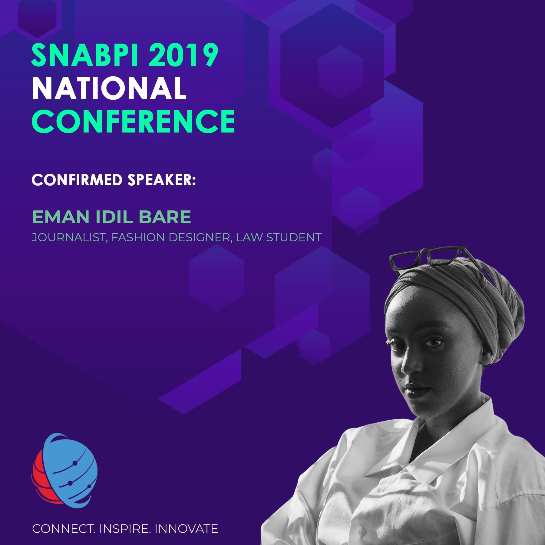 Thumbnail photo credit : Abdullahi Hassan for SNABPI, speaker biography courtesy of SNABPI