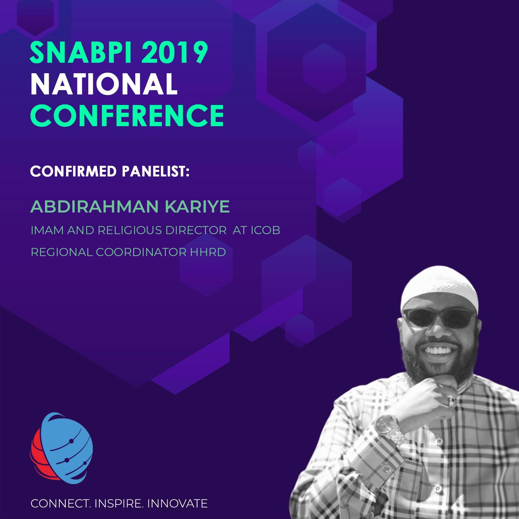 Speaker biography courtesy of SNABPI and thumbnail photo credit : Abdullahi Hassan for SNABPI
