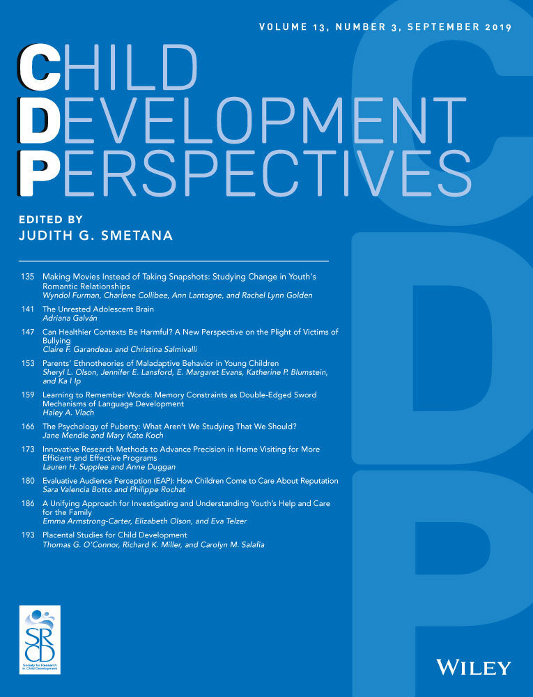 Advances and directions in preschool mental health research - March 2015