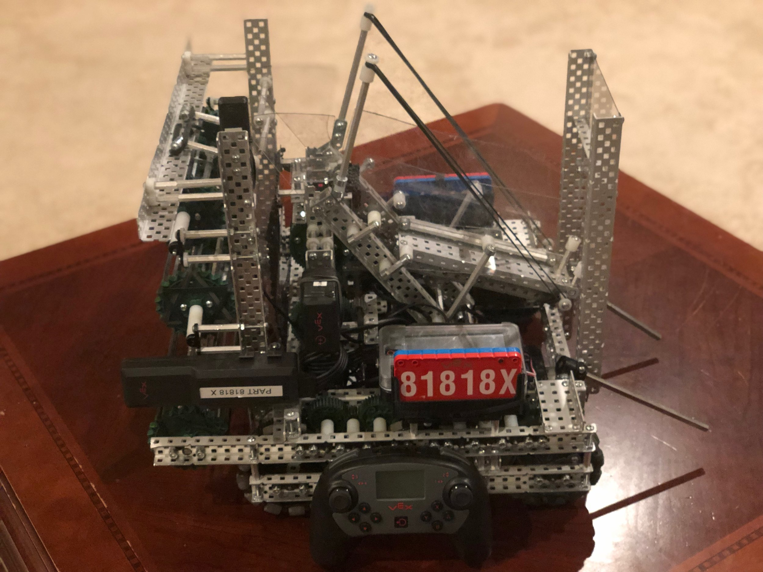 81818X Turning Point Build Award Winner! What will your robot look like?