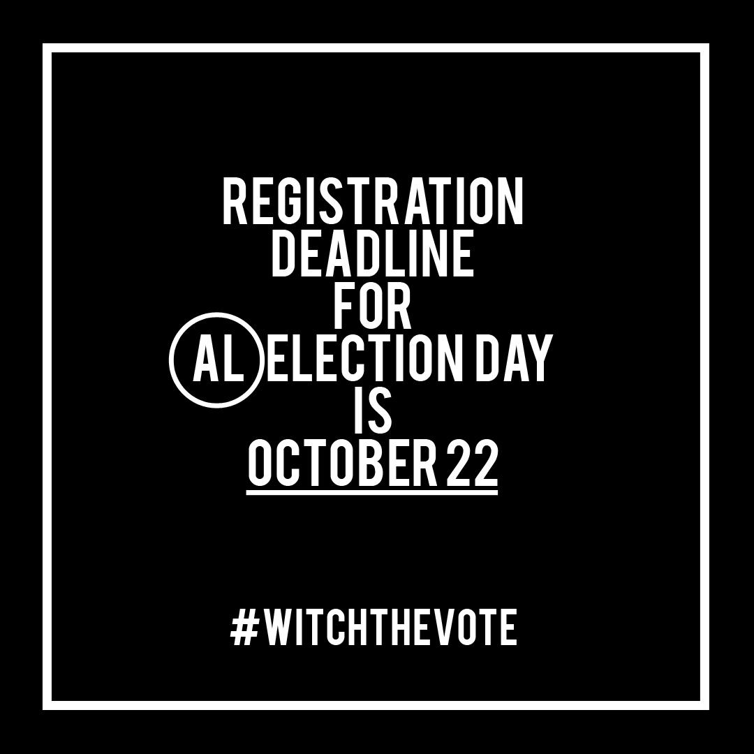 Alabama Voter Registration Deadline