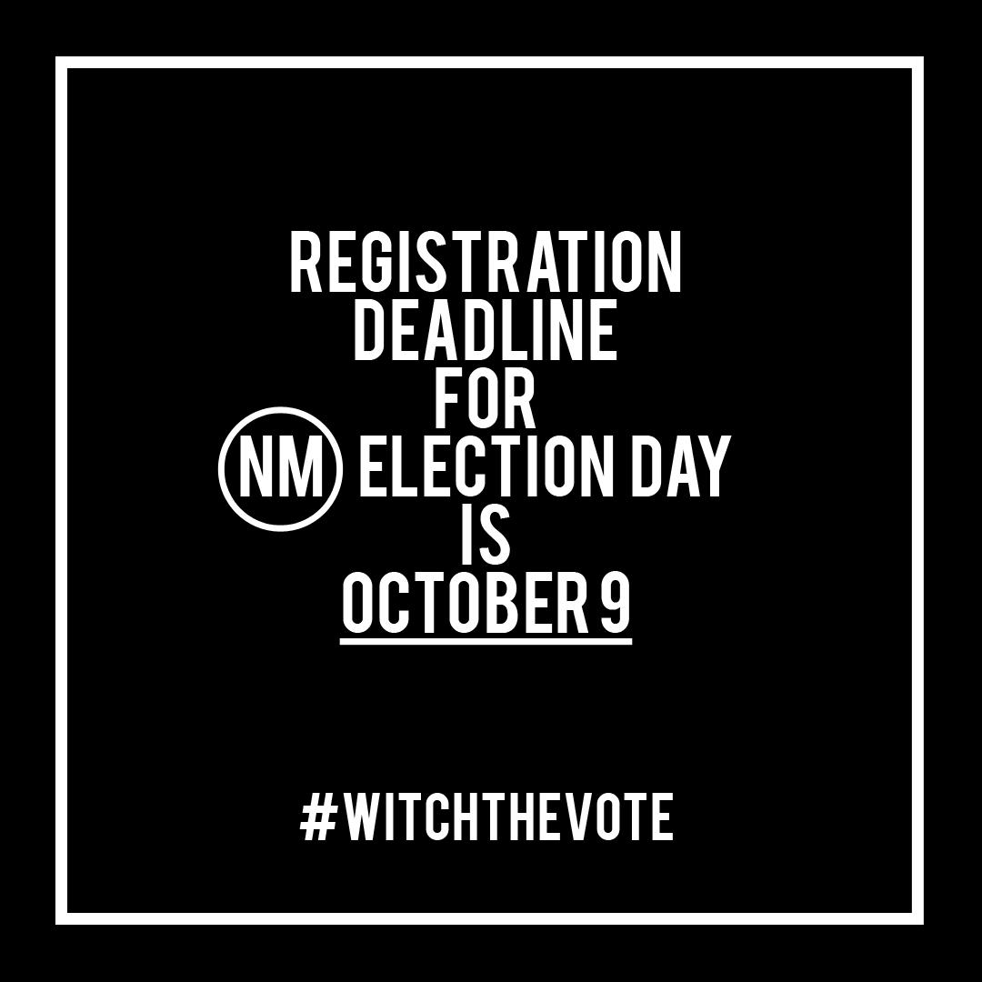 New Mexico Voter Registration Deadline