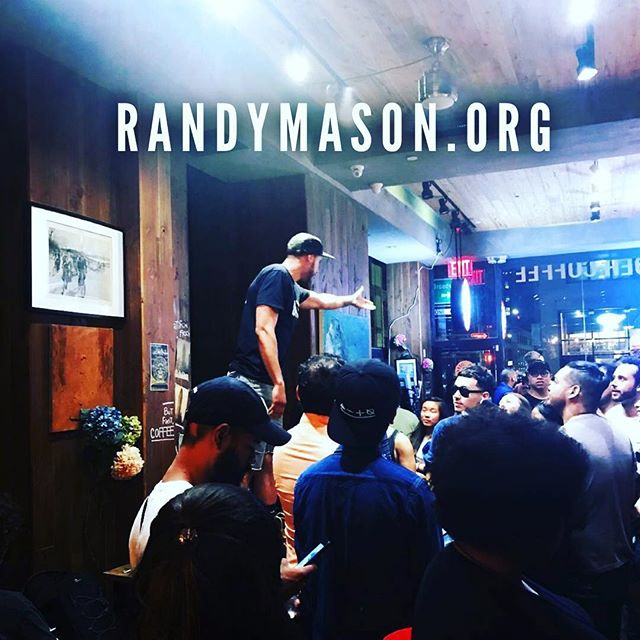 "Check out the other half of my dynamic duo Randy Mason. For those of you who love ""Jesus Peace but sometimes prefer your Rapper light skinned . R. Mason is doing his thing! Same empowerment half the calories!! If you don't know, now you know!  Randy Mason's website is launched live and direct!Randymason.org. #randymason"