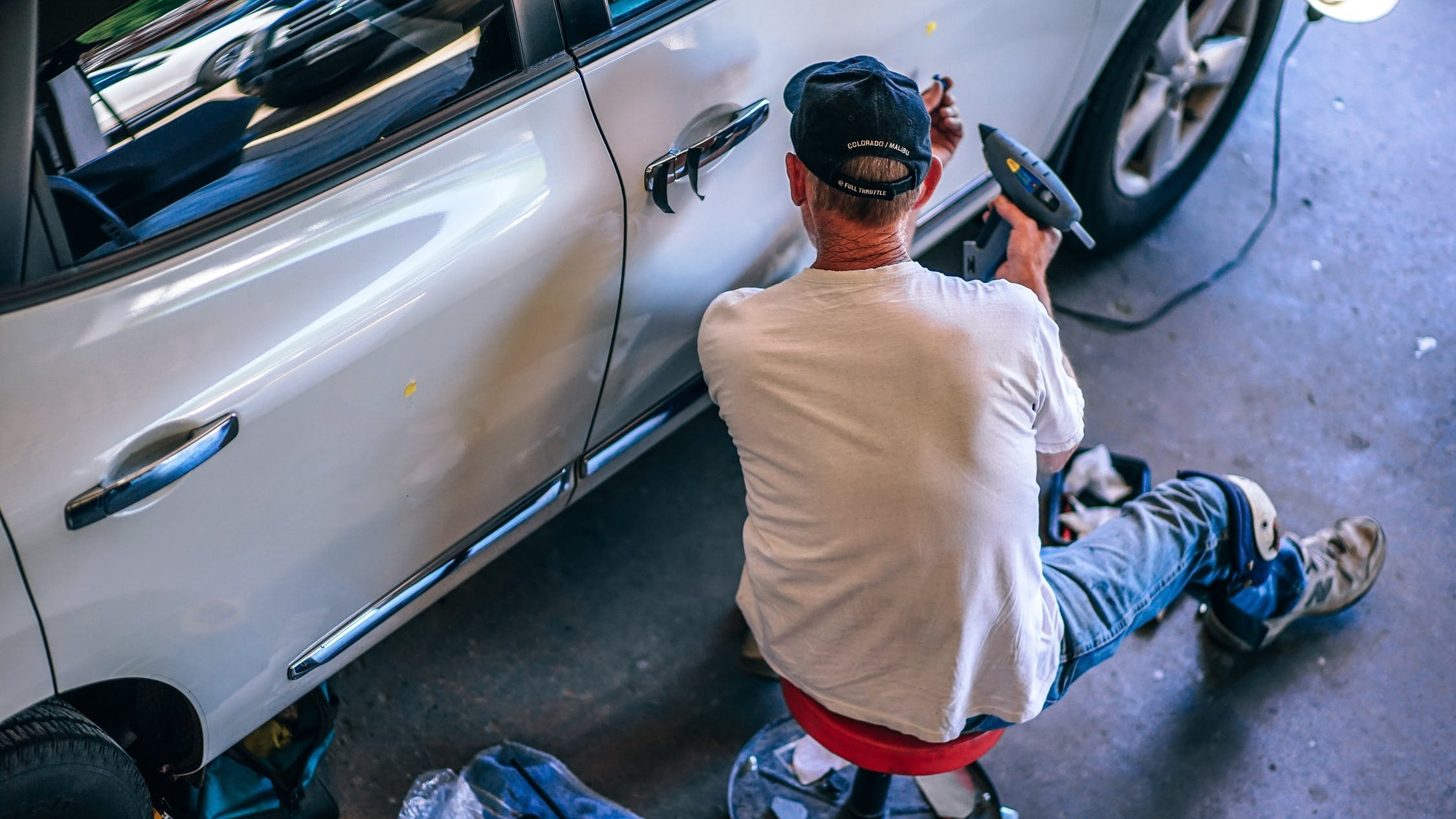 COLLISIONS - We can repair anything and everything from small dings, chips, and scratches, to major collision damage. Our technicians use the latest and greatest technology in collision repair.