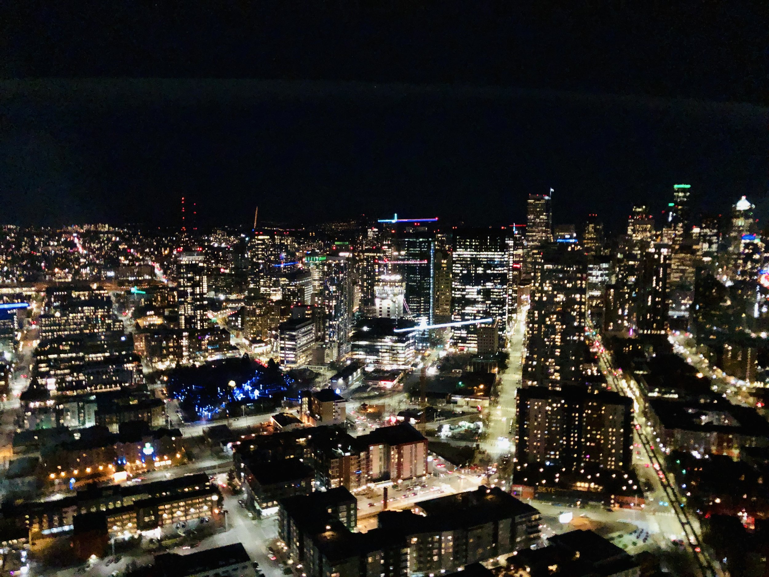 View from the Space Needle.