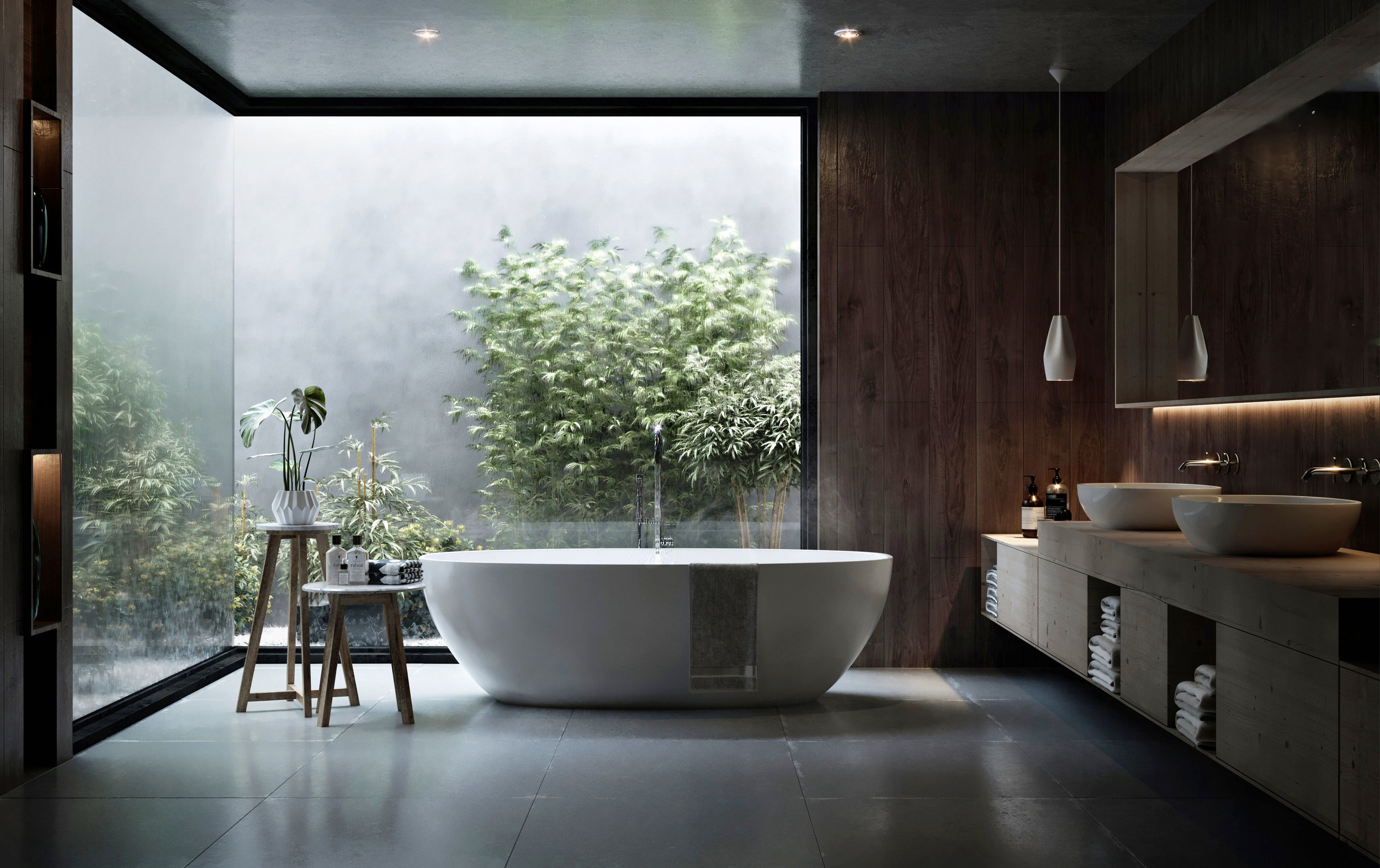 Copy of bathroom interior design visualization architectur
