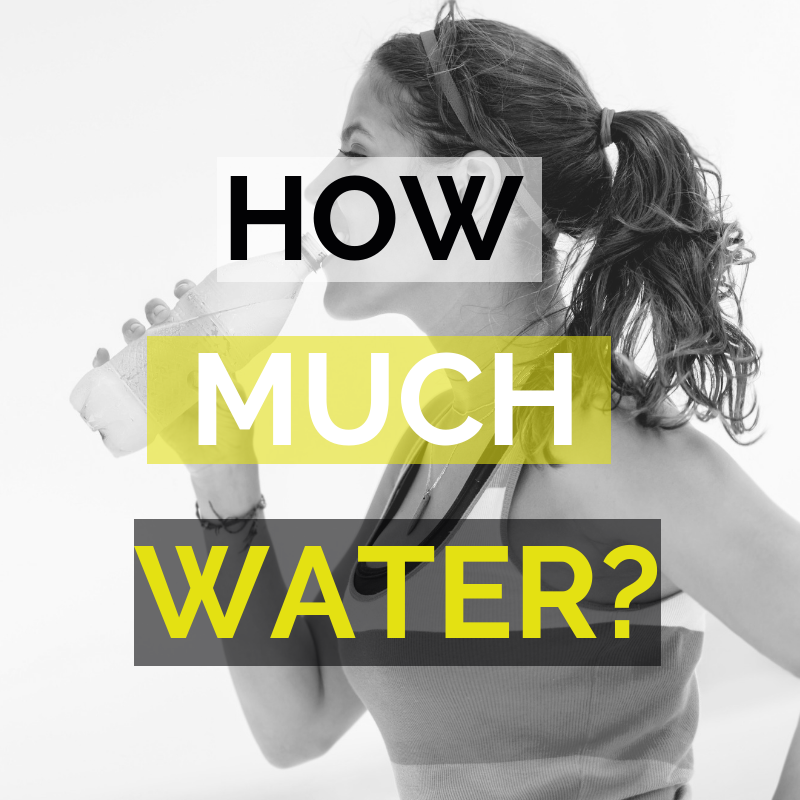 Personal Training How Much Water?