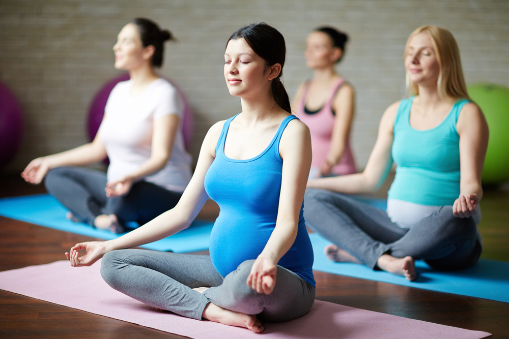 What to expect... - You will be led through a flow of adapted yoga postures (asanas) designed to create for you comfort, stability, space and support for the physical changes that your body is experiencing. You will learn techniques that can help you to improve circulation and give relief for feelings of depression, stress & tension.