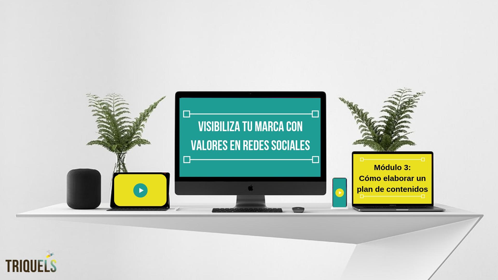 curso redes sociales para marcas con valores