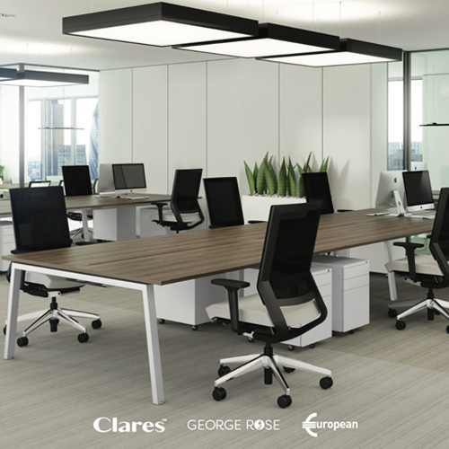 Clares Commercial Interiors 2019 - Over 200 pages of design ideas, advice and product information. Download the brochure now.