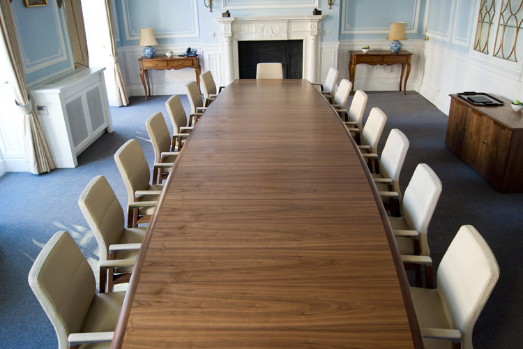 RAF Benevolent Fund Case Study - Clares Group were asked to supply all commercial furniture and specified additional goods to refurbish one of our long standing customers the RAF Benevolent fund in Central London.