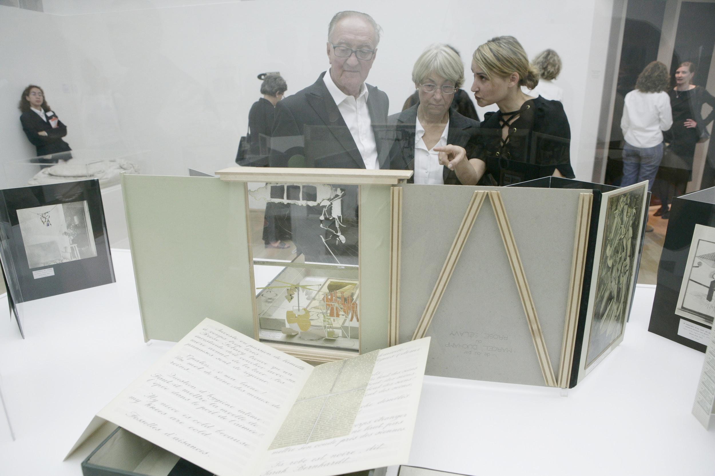 Tina_Museum_OldLife_Duchamp, mum _ dad.jpg