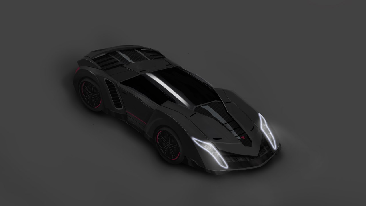 Render - Car