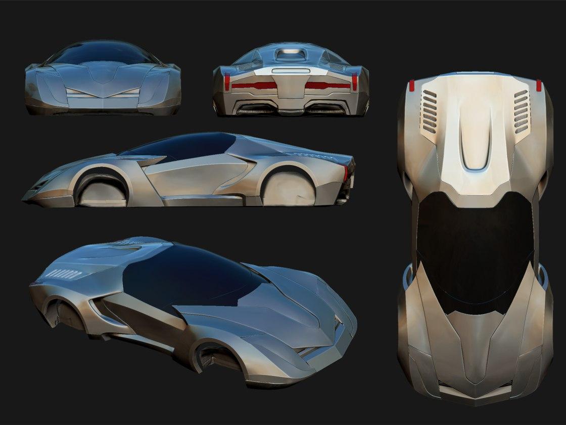 Concept Art - Car