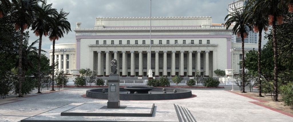 CG Environment - Manila Post Office