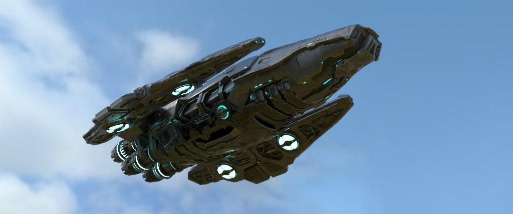 Render - Alien Ship