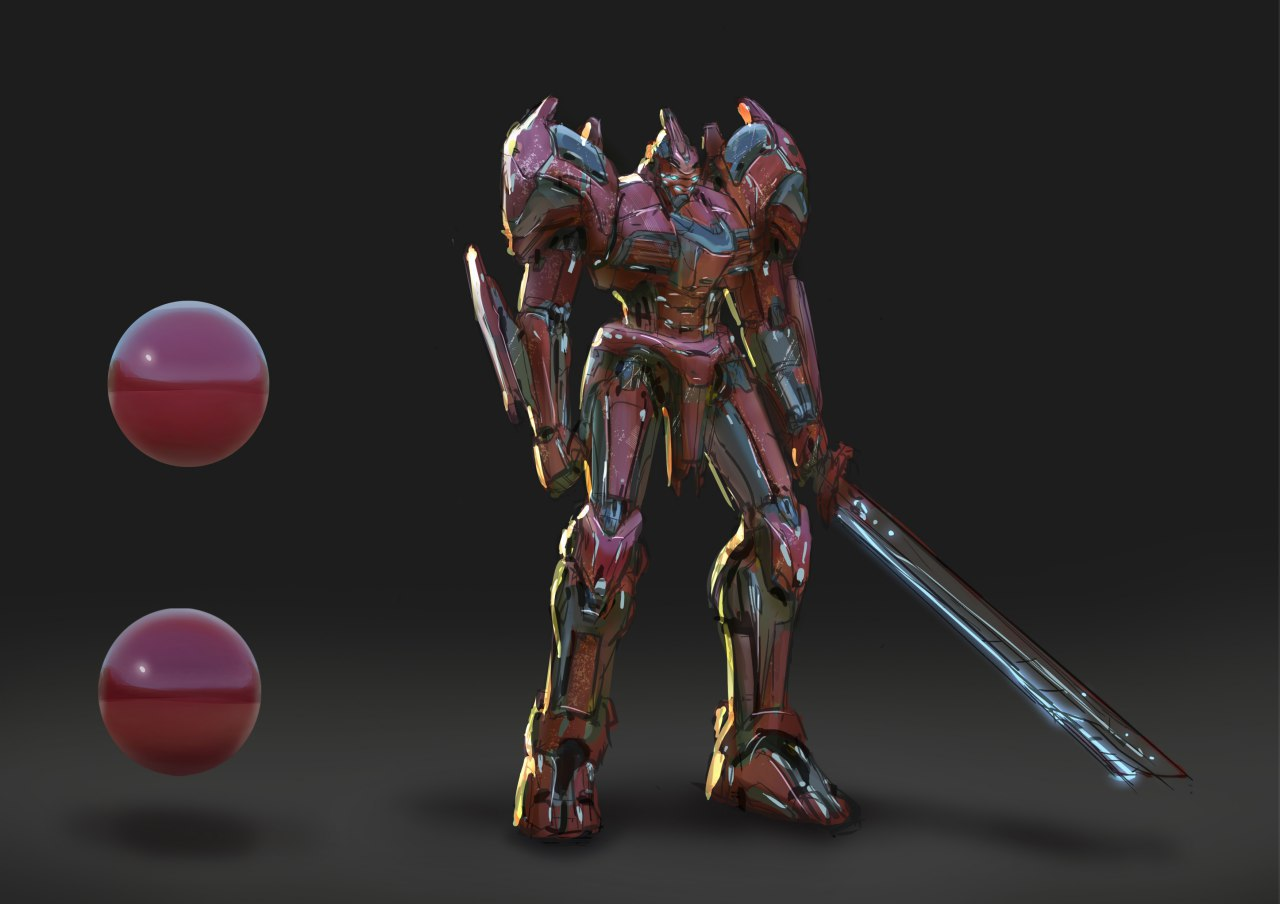 Concept Art - Robot