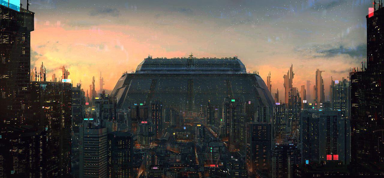 CG Environment - Futuristic City