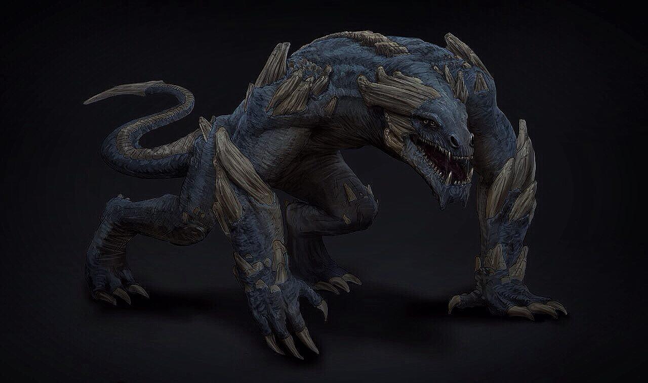Concept Art - Creature