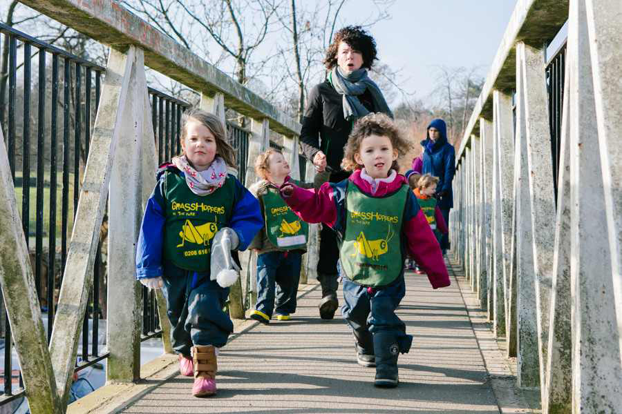 Parent-Led Childcare - Parent-led co-operative models of childcare like Grasshoppers in the Park in Hackney combine decent pay and conditions for staff with real control and affordability for parents who contribute time and skills to the management of the nursery. Inspired by NEF.