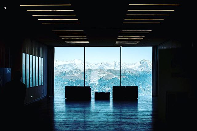 _A LOOK INTO THE FUTURE_ We just can't get enough of this beautiful view... Visit us #lumenmuseum the last weekend of summer season!☀️🍂⛰