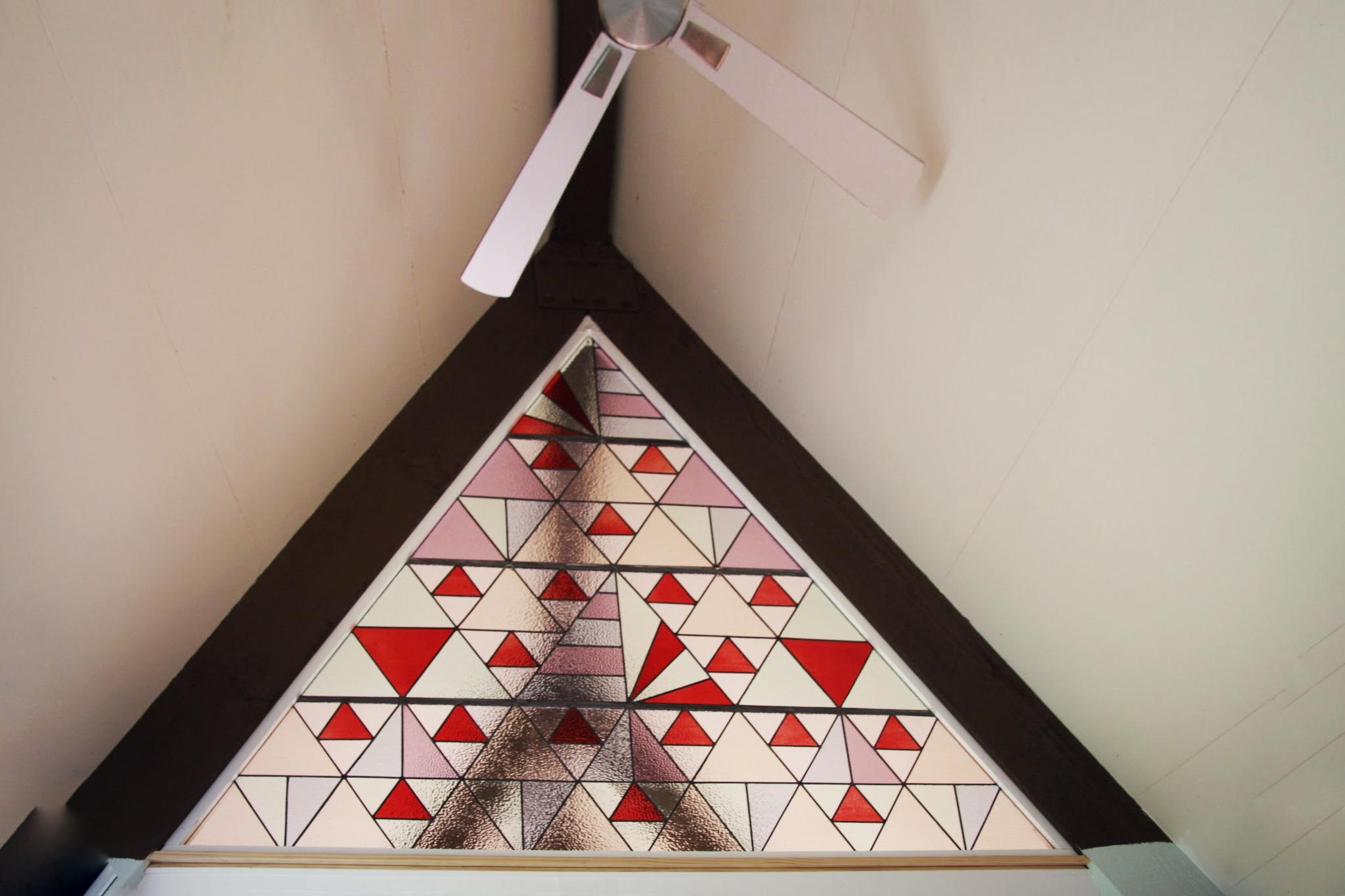 Modern Geometric Leadlight Panels