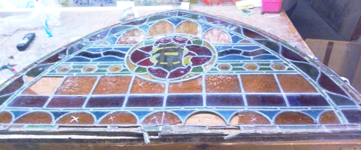 Rescued Church Window