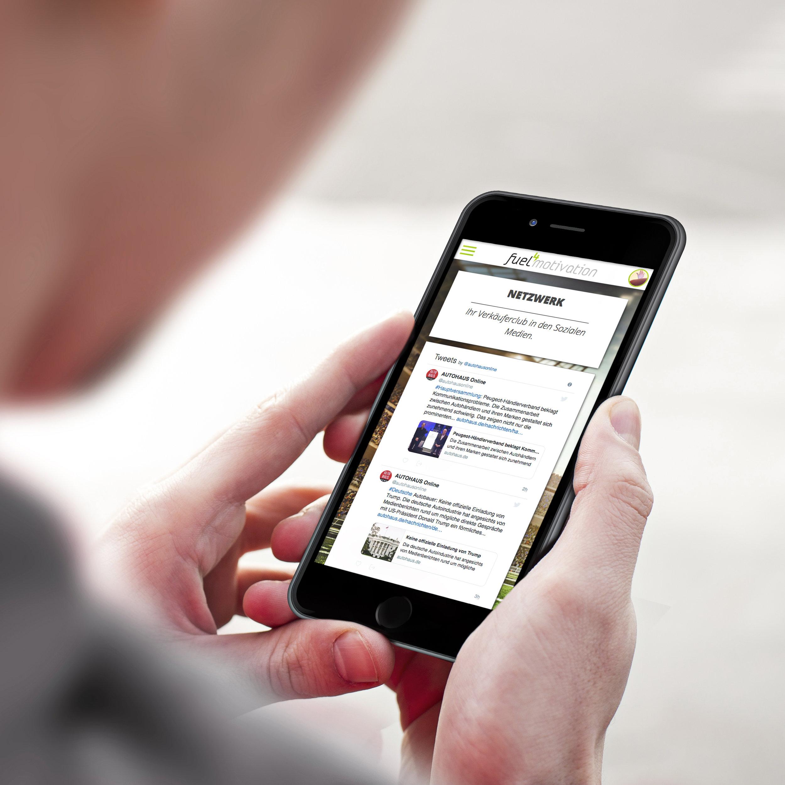 Forum der Fuel4 Motivation-App.