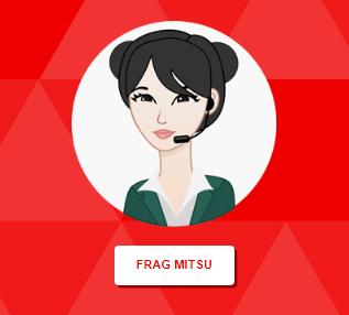 """Redaktioneller Avatar """"Mitsu"""" auf Clubwebsite."""