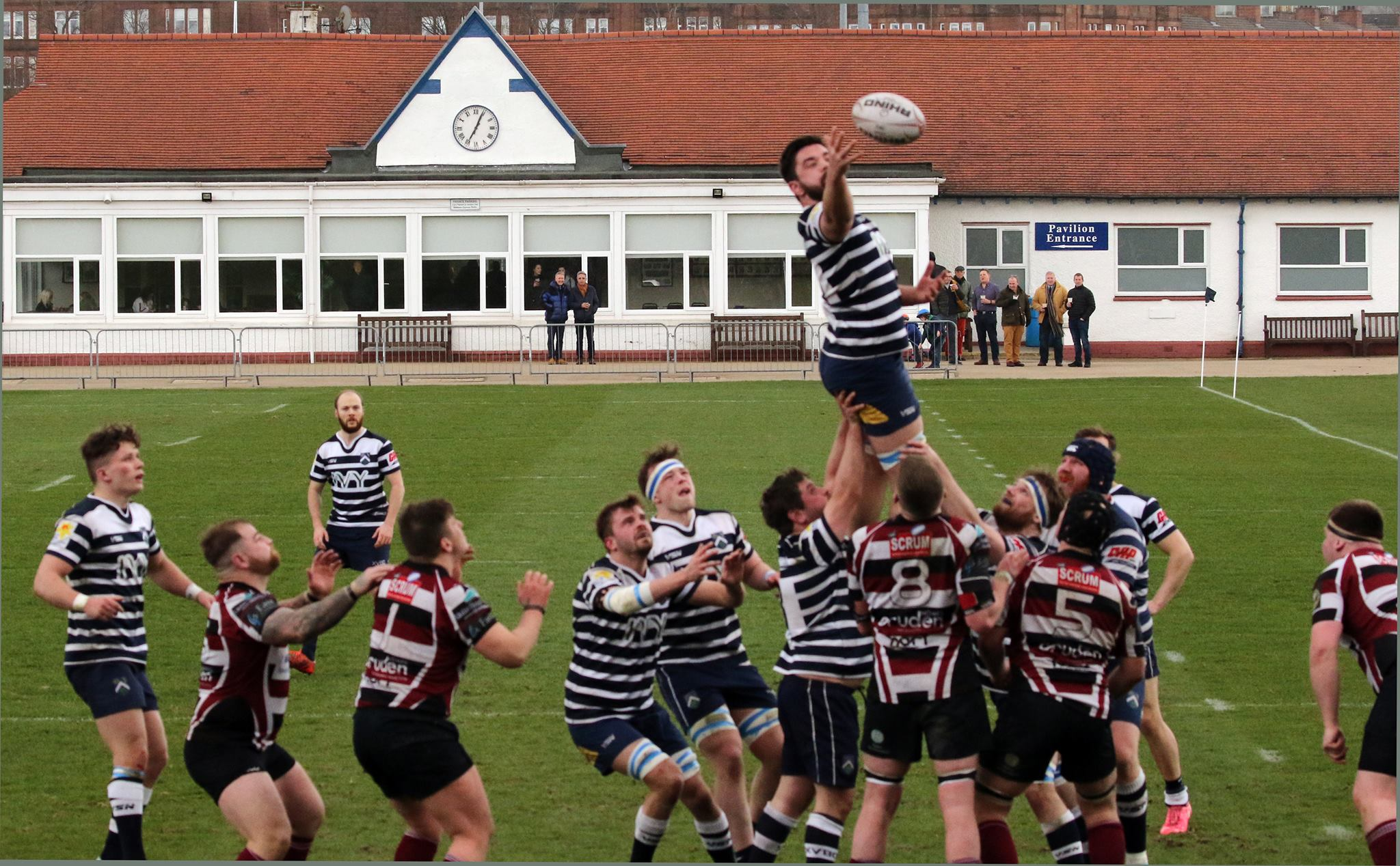 Wills leaping like a salmon