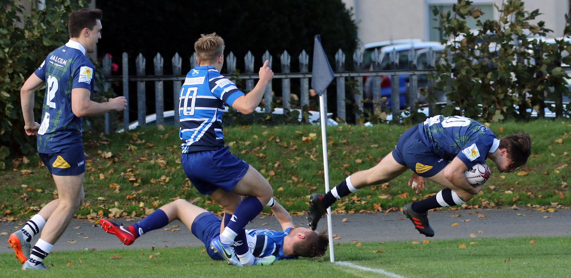 Try in a tough draw against Whitecraigs