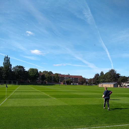 Pre-match pitch inspect - or admiration society.