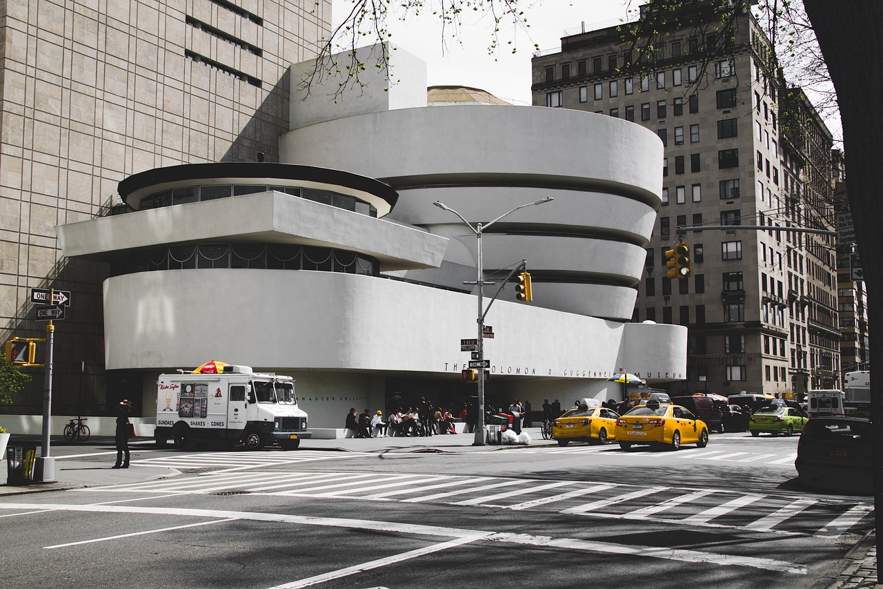 Guggenheim - A NYC architectural masterpiece, the Guggenheim museum is home to one of the finest modern art collections in the world. Ascend the landmark's grand spiral and experience its special exhibitions and permanent collections.Designed by visionary architect Frank Lloyd Wright and completed in 1959, the Guggenheim Museum is one of the most recognised museums in NYC, curating one of the most incredible collections of Impressionist, Post-Impressionist, early Modern and contemporary art in the world.