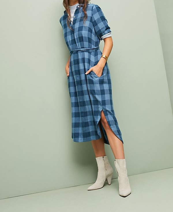 Buffalo Shirt Dress